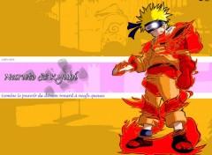 Fonds d'écran Manga Naruto & Kyubi