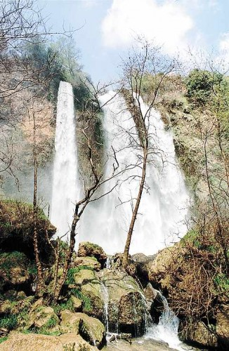 Wallpapers Trips : Asia Lebanon cascade du fleuve ASSI