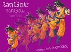 Fonds d'écran Manga evolution goku