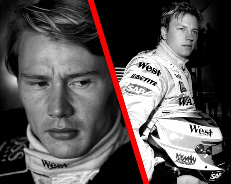 Fonds d'écran Sports - Loisirs Formule 1 Le Finlandais volant & Iceman