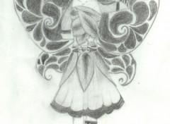 Fonds d'écran Art - Crayon Colin as a Fairy