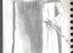 Fonds d'écran Art - Crayon Nikos as the White Apprentice