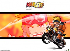 Fonds d'écran Manga Naruto - Moto