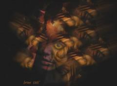 Fonds d'écran Art - Numérique tribal voodoo girl