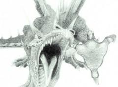 Wallpapers Art - Pencil Dragon