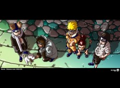 Fonds d'écran Manga Naruto - Shikamaru team