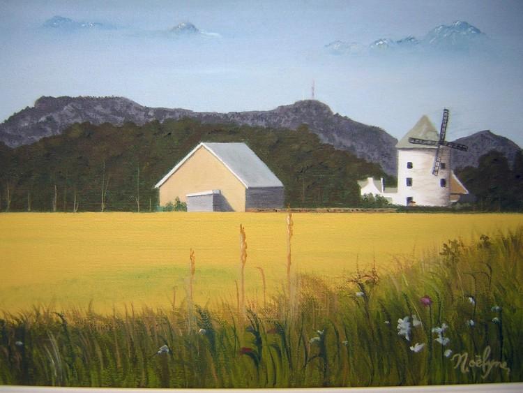 Fonds d'écran Art - Peinture Paysages Divers M'EN REVENANT DU TRAVAIL