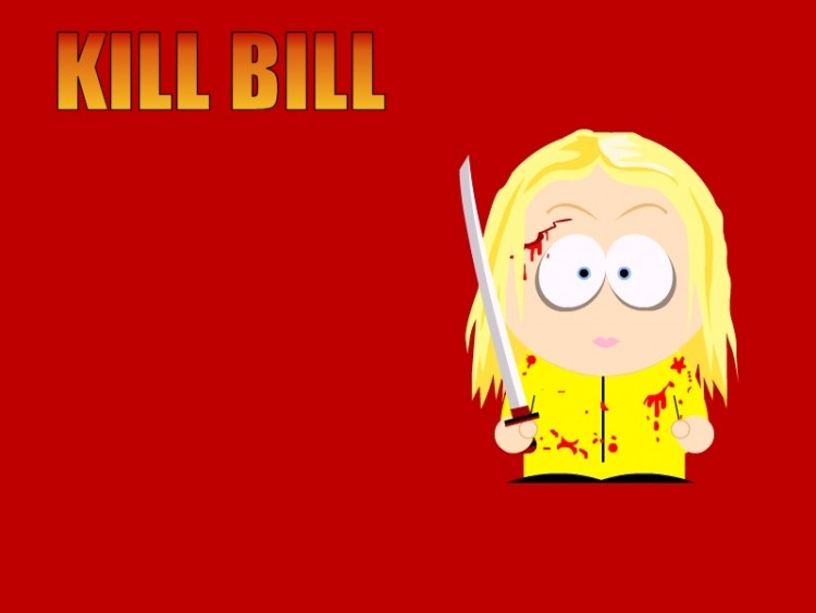 Fonds d'écran Cinéma Kill Bill Vol. 1 La Mariée - Version South Park