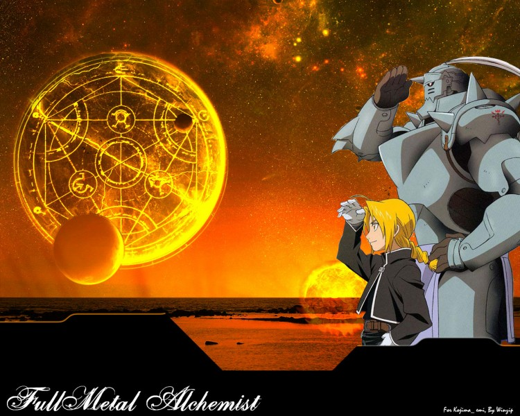 Fonds d'écran Manga Full Metal Alchemist Fullmetal Alchemist By winzip
