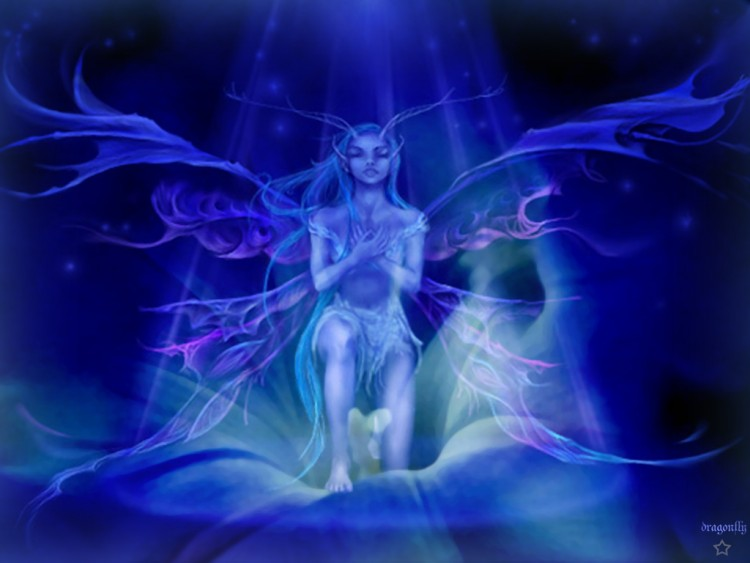 Wallpapers Fantasy and Science Fiction Fairies New born or new soul