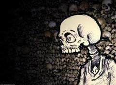 Fonds d'écran Art - Peinture Skull