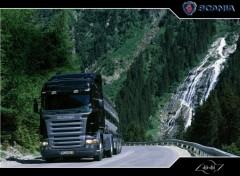 Fonds d'écran Transports divers scania