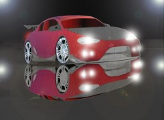 Wallpapers Digital Art Light car