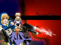 Fonds d'écran Manga rosette