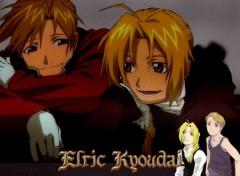 Fonds d'écran Manga Elric Kyoudai