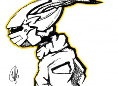 Fonds d'écran Art - Crayon RoboTek