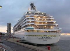 Fonds d'écran Bateaux Crystal Symphony bateau croisière