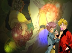 Fonds d'écran Manga gravitation shuichi yuki