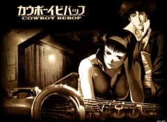 Wallpapers Cartoons Cowboy Bebop - 01