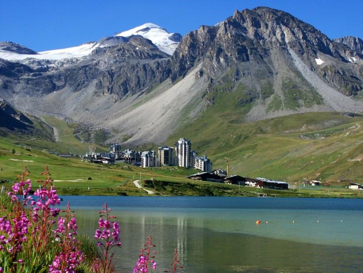 Fonds d'écran Voyages : Europe France > Rhône-Alpes Tignes