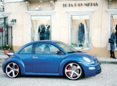 Wallpapers Cars New Beetle Techart, Porsche design
