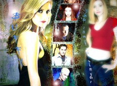 Fonds d'écran Séries TV Buffy the vampire slayer