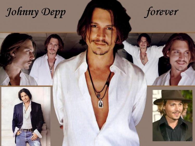 Fonds d'écran Célébrités Homme Johnny Depp johnny depp forever