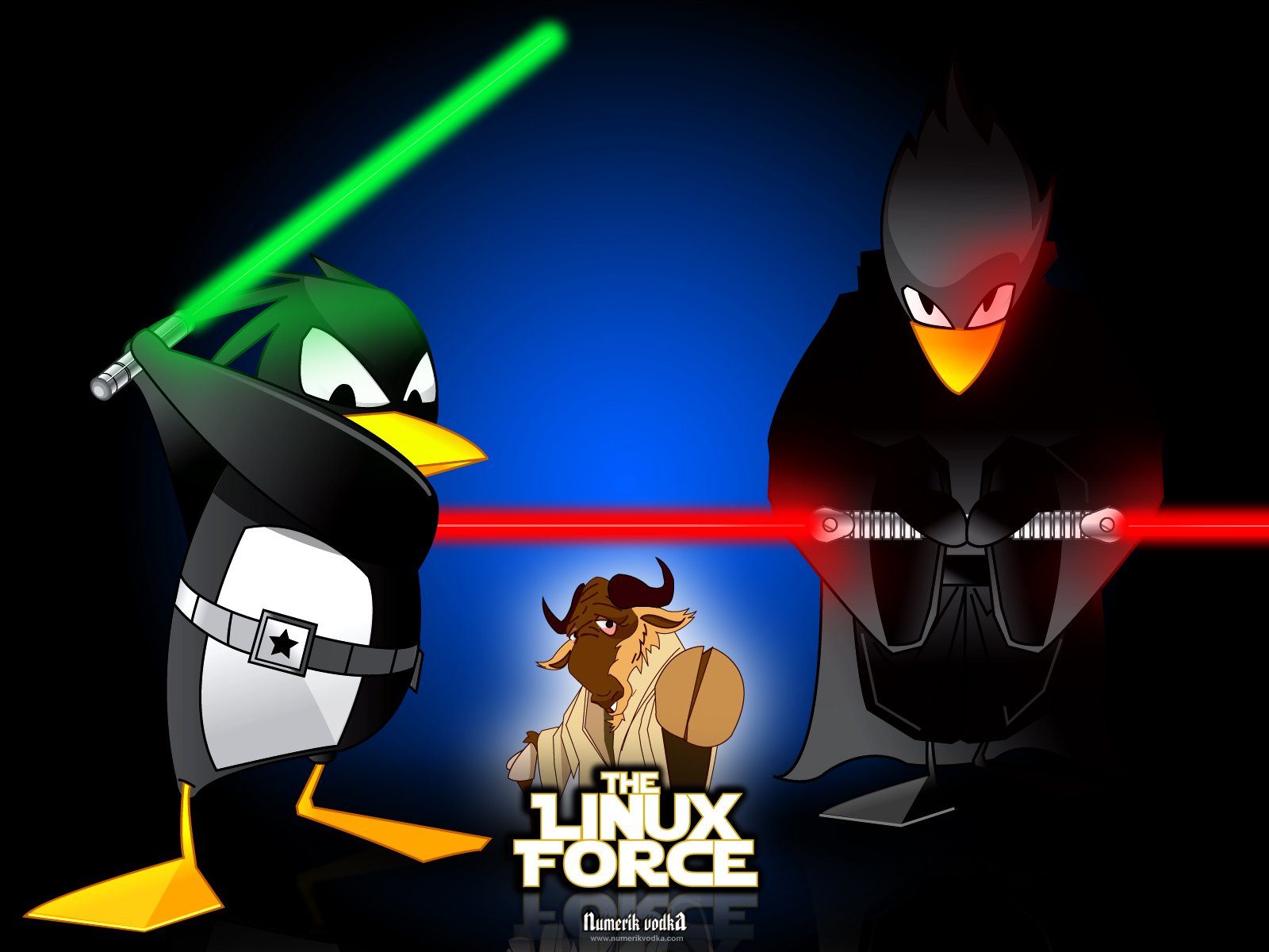 Fonds d'écran Informatique Linux The Linux Force III