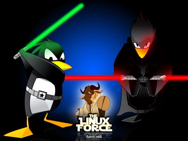 Fonds d'écran Informatique Linux The Linux Force III