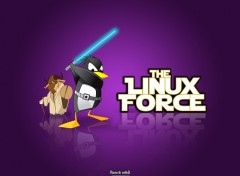 Fonds d'écran Informatique The Linux Force I