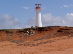 Wallpapers Constructions and architecture Phare aux Iles-de-la-Madeleine