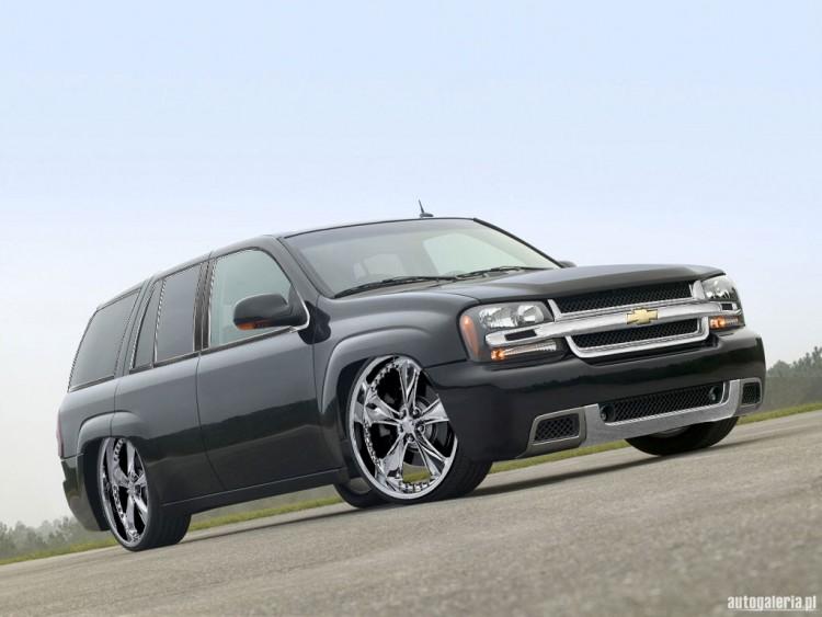 Fonds d'écran Voitures Tuning Chevrolet TrailBlazer SS DUB Style
