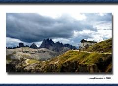 Fonds d'écran Voyages : Europe Rifugio Auronzo
