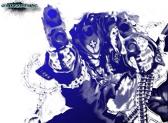 Fonds d'écran Dessins Animés Gungrave Light blue
