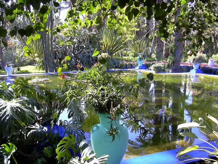 Fonds d 39 cran nature fonds d 39 cran parcs jardins le jardin majorelle par fiduratur - Fond d ecran jardin anglais ...