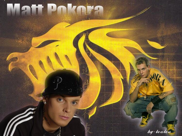 Fonds d'écran Musique Divers Rap Matt Pokora
