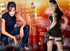 Fonds d'écran Célébrités Femme Angelina Jolie