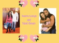 Fonds d'écran Célébrités Femme Beatriz Luengo et Yotuel Romero!!!!