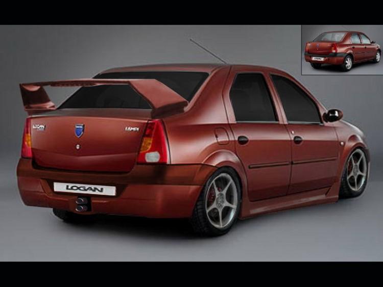 Wallpapers Cars Wallpapers Tuning Dacia Logan By