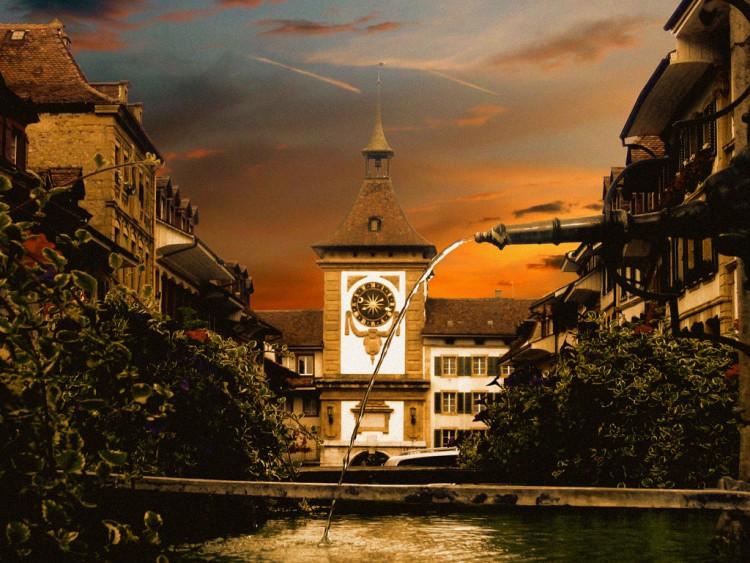 Fonds d'écran Voyages : Europe Suisse Morat/Murten