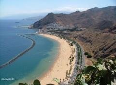 Fonds d'écran Voyages : Afrique la plage teresitas, Tenerife