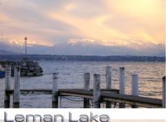 Fonds d'écran Voyages : Europe Lac Léman