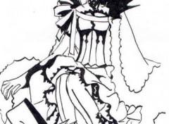 Wallpapers Art - Pencil Shaolan & Sakura