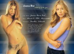 Fonds d'écran Célébrités Femme Jessica biel profile
