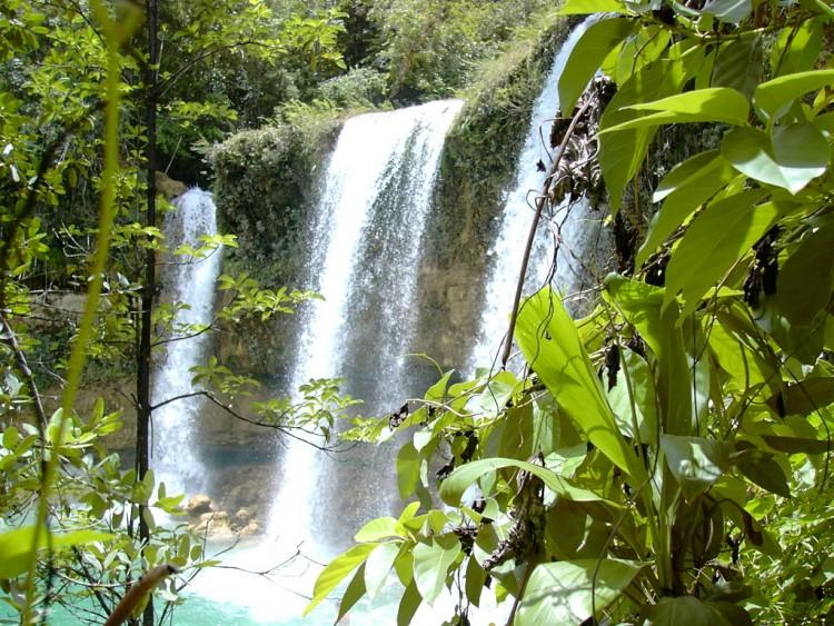 Fonds d'écran Nature Cascades - Chutes cascade del limone (Republica Dominica)