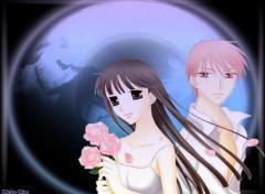 Fonds d'écran Manga The Moon 's Fruits