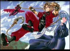 Fonds d'écran Manga Yoruichi Erementar Gerad 01