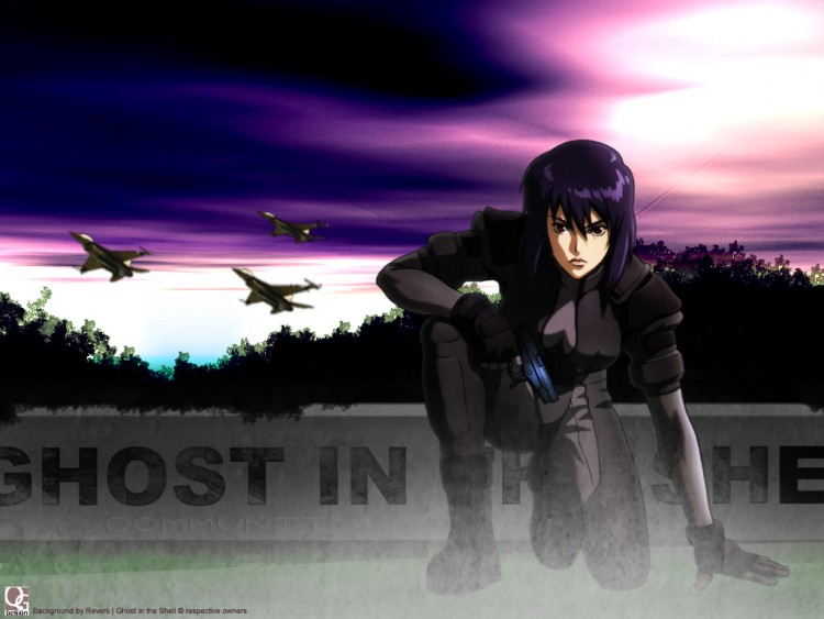 Fonds d'écran Manga Ghost In The Shell [QG-DeSiGn]Ghost_in_the_Shell