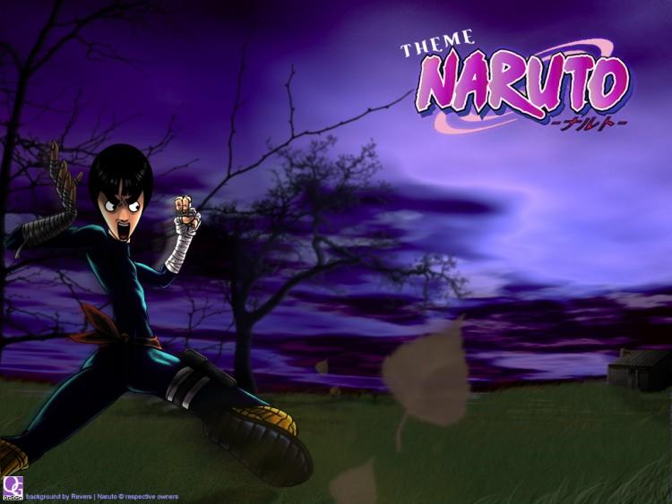 Fonds d'écran Manga Naruto [QG-DeSiGn]Naruto_PowerLee