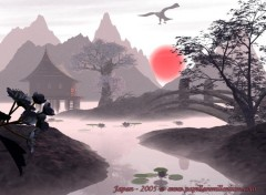 Wallpapers Digital Art Japon